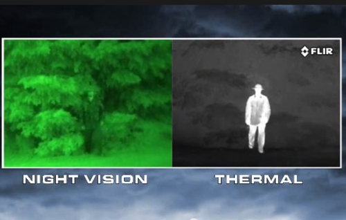 night vision vs thermal imaging
